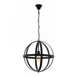 Eglo Hanglamp Barnaby Zwart 49516