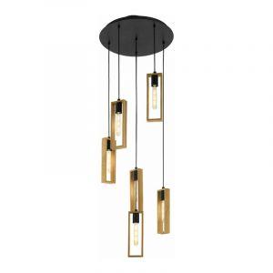 Eglo Hanglamp Littleton Zwart 49549