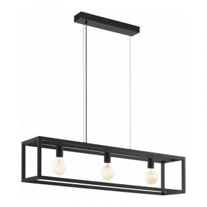 Eglo Hanglamp Elswick Zwart 49564