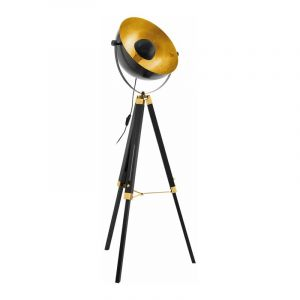 Eglo Vloerlamp Covaleda Zwart 49618