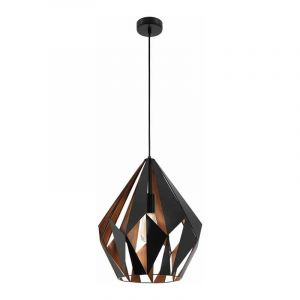 Eglo Hanglamp Carlton Zwart 49878