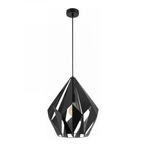 Eglo Hanglamp Carlton Zwart 49879
