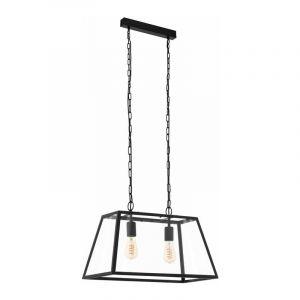 Eglo Hanglamp Amesbury Zwart 49883