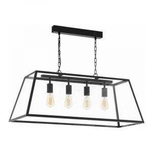 Eglo Hanglamp Amesbury Zwart 49886