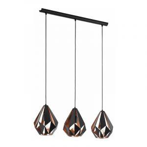 Eglo Hanglamp Carlton Zwart 49991