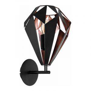 Eglo Wandlamp Carlton Zwart 49992