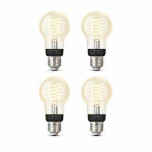 4x Philips Hue Filament Warm White E27 Standaardlamp