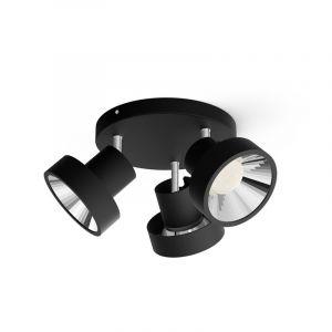 Philips Spotlamp Bukko 3-lichts Zwart 5060330P0