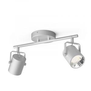 Philips Spotlamp Byre 2-lichts Zilver 5066214P0