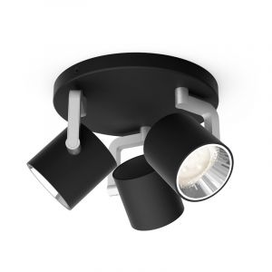 Philips Spotlamp Byrl 3-lichts Zwart 5067330P0