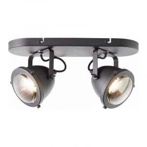 Brilliant Plafondlamp Carmen Zwart 55413/86