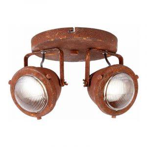 Brilliant Plafondlamp Carmen Roest G55424/55