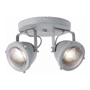 Brilliant Spotlamp Carmen 2-lichts Beton G55424/70