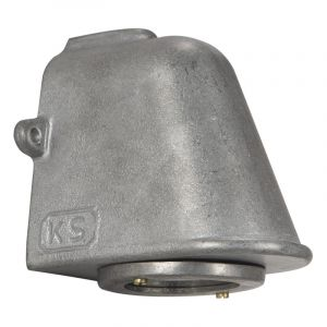 KS verlichting Wandlamp Offshore Aluminium 6505
