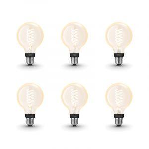 Filament Warm White E27 Globelamp G95 8718699688882