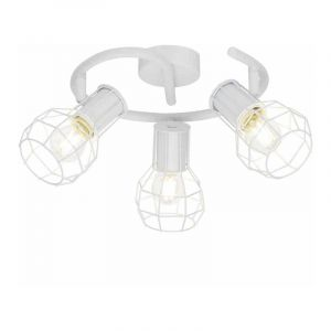 Brilliant Plafondlamp Siza Wit 71833/05
