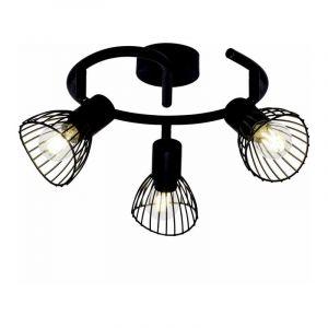 Brilliant Spotlamp Elhi 3-lichts Zwart 71933/06