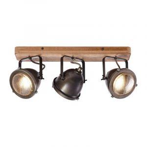 Brilliant Plafondlamp Carmen Hout 72030/84