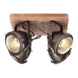Brilliant Plafondlamp Carmen Hout 72035/84