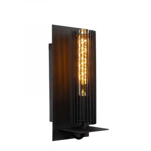 Lucide Wandlamp Lionel Zwart 73206/01/30
