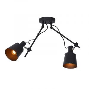 Lucide Spotlamp Quinny 2-lichts Zwart 74107/12/30