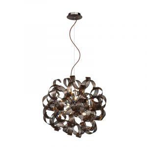 Lucide Hanglamp Atoma Bruin 74401/60/97