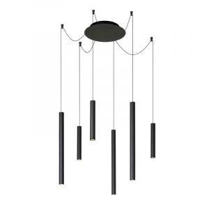 Lucide Hanglamp Lorenz Zwart 74403/06/30