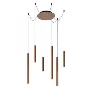 Lucide Hanglamp Lorenz Roest 74403/06/97