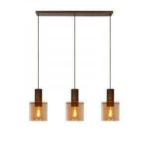Lucide Hanglamp Toledo Amber 74405/03/62
