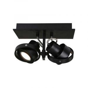 Steinhauer Spotlamp Quatro 2-lichts Zwart 7550ZW