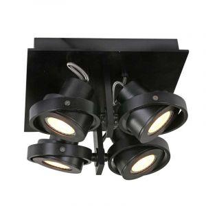 Steinhauer Spotlamp Quatro 4-lichts Zwart 7552ZW