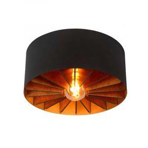Lucide Plafondlamp Zidane Zwart 77185/40/30