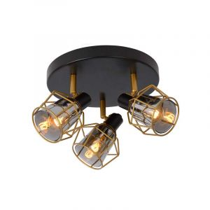 Lucide Spotlamp Nila 3-lichts Zwart 77977/13/30