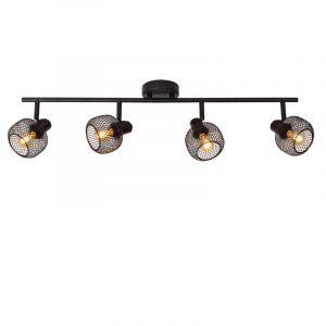 Lucide Spotlamp Maren 4-lichts Zwart 77978/04/30