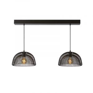 Lucide Hanglamp Mesh Zwart 78387/02/30