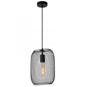 Lucide Hanglamp Mesh Zwart 78392/01/30