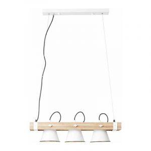 Brilliant Hanglamp Plow Wit 82173/05