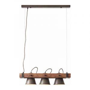Brilliant Hanglamp Plow Zwart 82173/46