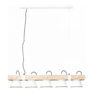 Brilliant Hanglamp Plow Wit 82175/05
