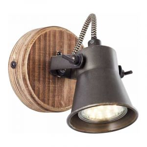 Brilliant Spotlamp Seed Hout 82210/46