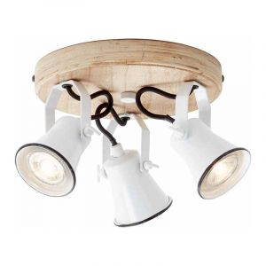 Brilliant Plafondlamp Seed Wit 82234/05