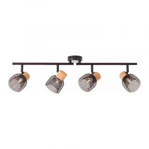 Brilliant Plafondlamp Flaka Zwart 82632/06