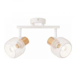 Brilliant Plafondlamp Giada Wit 83313/75