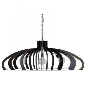 ZTaHL by Dijkos Hanglamp Catania Zwart-staal 8600