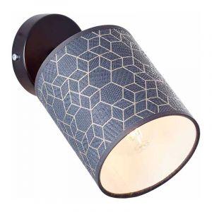 Brilliant Wandlamp Galance Zwart 86810/06