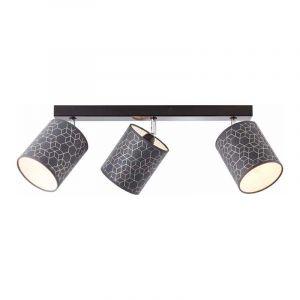 Brilliant Plafondlamp Galance Zwart 86830/06