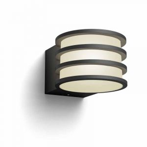 Buiten wandlamp Lucca van Philips Hue Outdoor met dimbare LED verlichting
