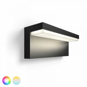 Buiten wandlamp Nyro met White and Color Ambiance LED verlichting