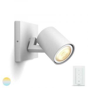 Witte Runner spotlamp van Philips Hue met Dimmer