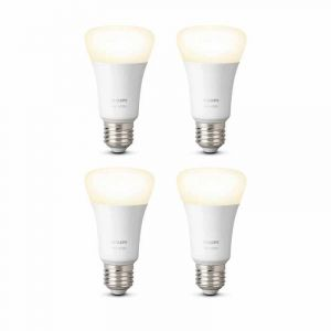 4x Philips Hue White E27 Losse Lamp met Bluetooth